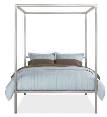 Furniture Modern FourPoster Bed Frames portrait 4