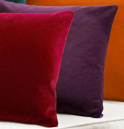 pottery barn amethyst pillow