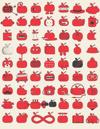 pottok prints apples