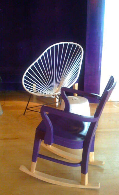 purple chair mondrian 2