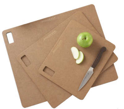 recycled cardboard cutting surfaces