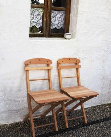 Furniture Rhodian Folding Chair portrait 3