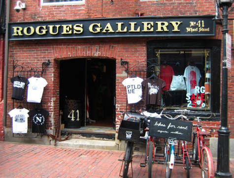 Shoppers Diary Rogues Gallery in Portland Maine portrait 3