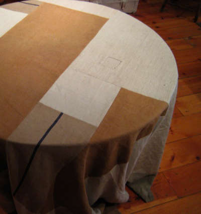 rogues gallery patch tablecloth