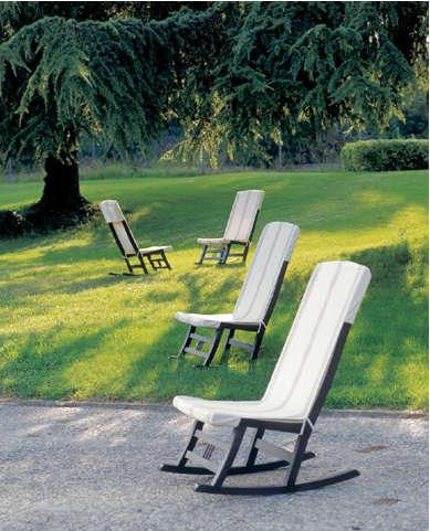 santa cole rocking chair