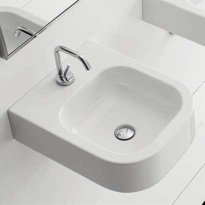 Bath Scarabeo Lavatory Sink portrait 2
