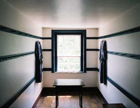 shaker dressing room