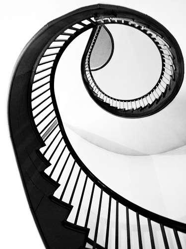 shaker village spiral staircase 2