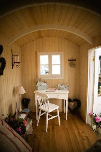 Outdoors Artisan Shepherds Huts in Sussex portrait 6