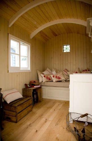 Outdoors Artisan Shepherds Huts in Sussex portrait 5