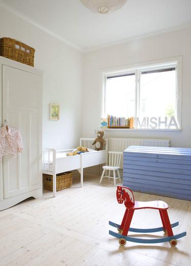 simple childrens room 1