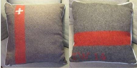 Accessories Vintage Army Blanket Pillows portrait 5