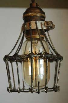 Lighting Vintage Cage Lights portrait 4
