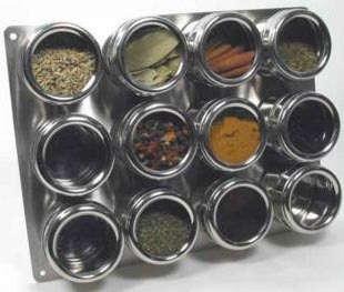 Kitchen Magnetic Spice Racks portrait 8