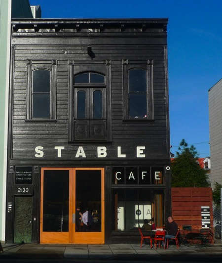 stable cafe exterior shot