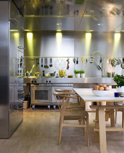 stainless kitchen patric johansson