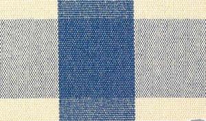 suffolk blue check oil cloth