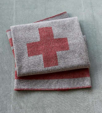 Accessories Cross Blanket at Sundance portrait 3