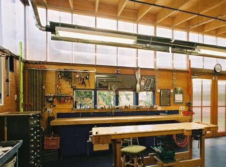 Architect Visit Harrison Architects Garage portrait 6