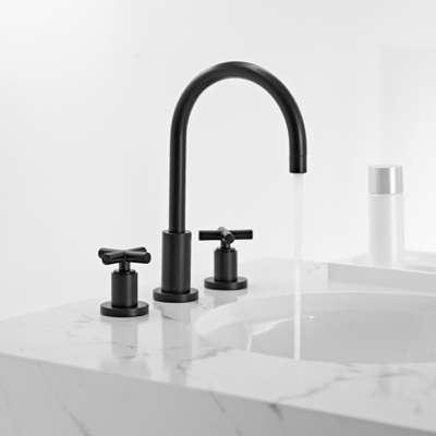 Bath Dornbracht Tara Black and White Edition Faucets portrait 3