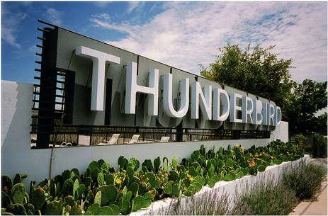 Hotels  Lodging Thunderbird Hotel in Marfa portrait 3