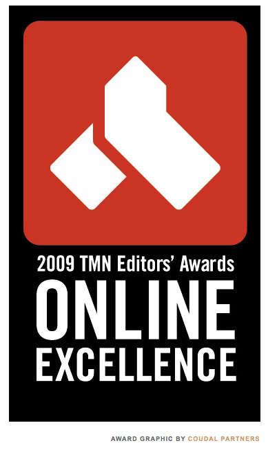 tmn editors awards online excellence