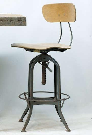 toledo industrial drafting chair