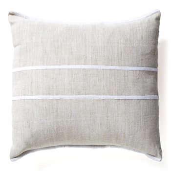 trans striped pillow white lrg