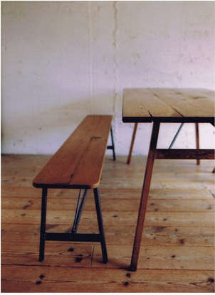 truck table and chair