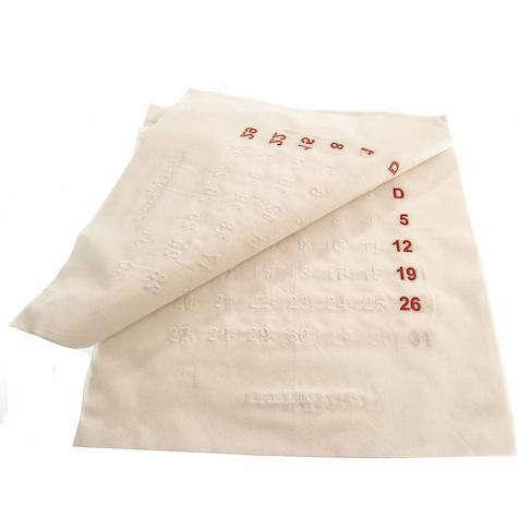 Martin margiela calendrier en coton 11