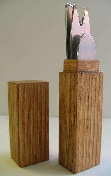 Silhouette cutlery set 1