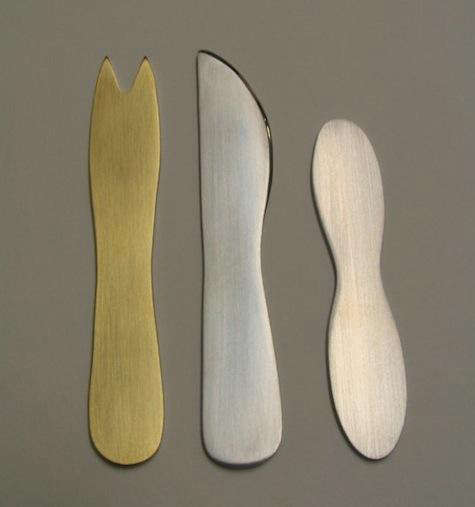 Tabletop Silhouette Cutlery Set by Anneke van Bommel portrait 4