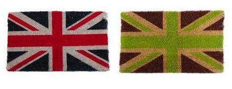 Accessories Union Jack Doormat from Heals in the UK portrait 4