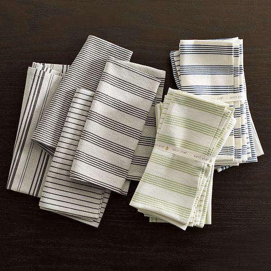 West elm yarn dyed napkins