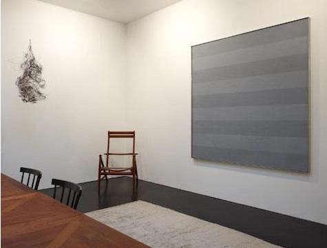 friedman gray stripe painting