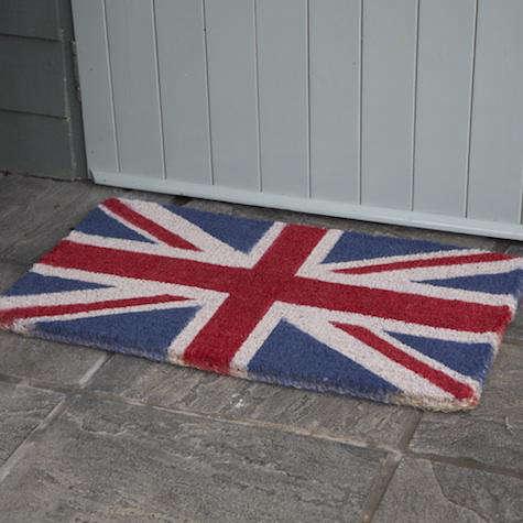 Accessories Union Jack Doormat from Heals in the UK portrait 3
