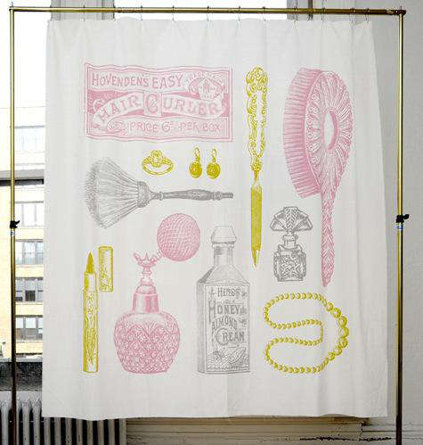 Bathroom Izola Shower Curtains portrait 5
