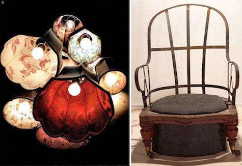jamesplumb chair chandelier
