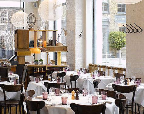 Restaurant Visit Bistrot Bruno Loubet in Clerkenwell portrait 3