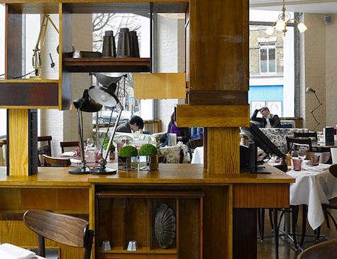 Restaurant Visit Bistrot Bruno Loubet in Clerkenwell portrait 6