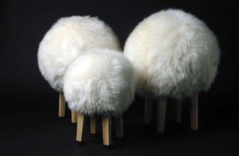 sam brown sheep stools