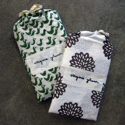 virginia johnson fabric bag