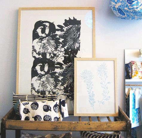 virginia johnson framed print