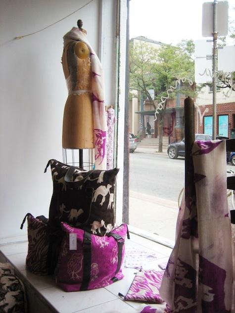 Shoppers Diary Virginia Johnson in Toronto portrait 3