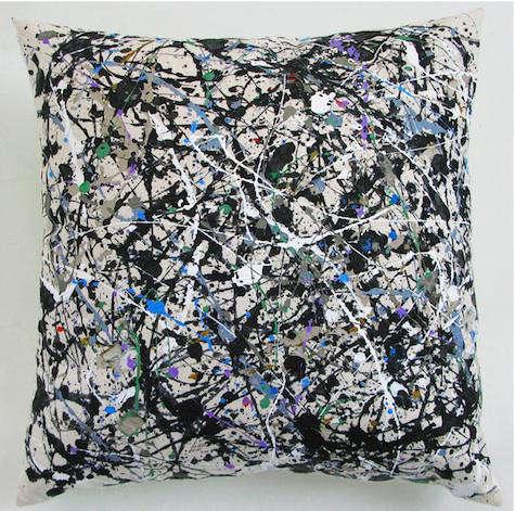 Fabrics  Linens Wary Meyers Painting Pillows portrait 5