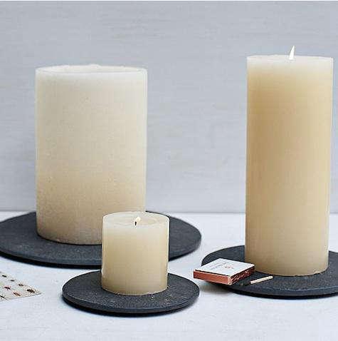 west elm slate candle tray