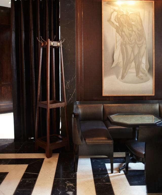 640 david collins delaunay lobby