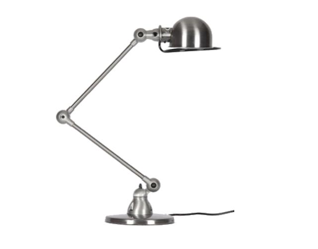 640 desk lamp brushed steel