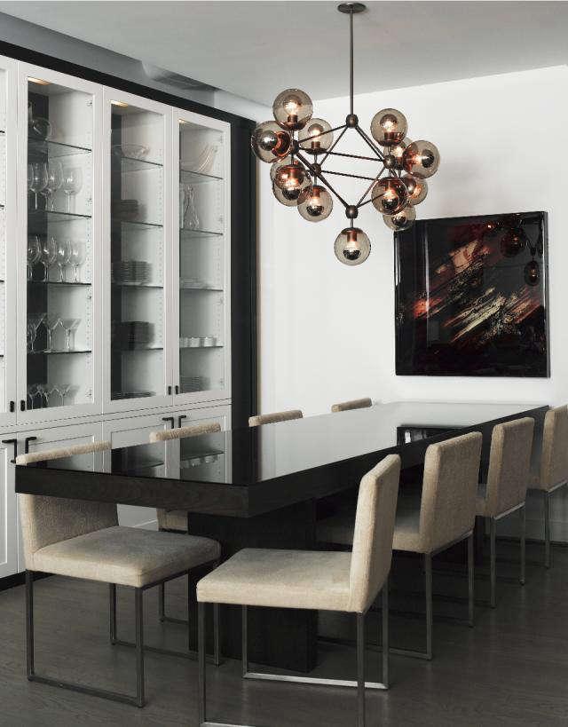 640 dining room globe pendant lamp
