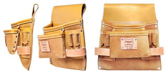 640 leather tool belt pouch